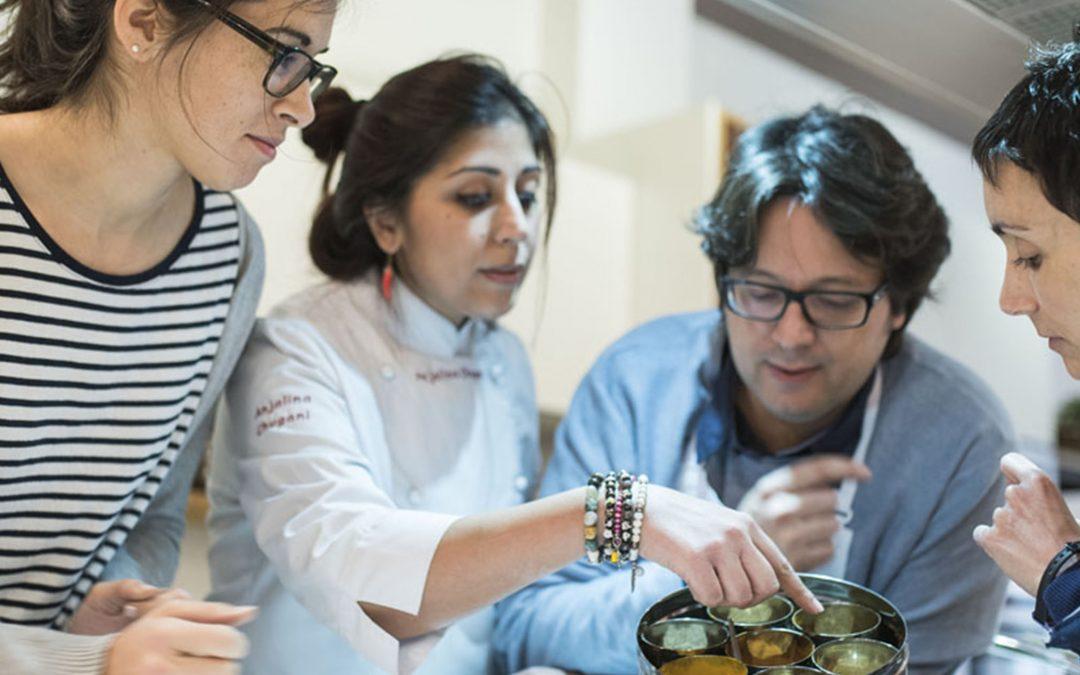 Cursos de cocina india, descubre nuestra chef Anjalina Chugani