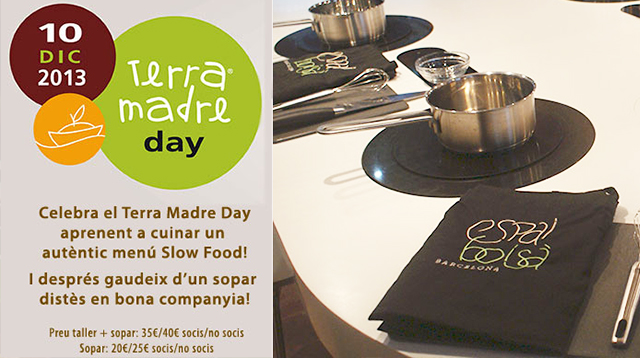 Terra Madre Day, Show cooking-cena Slow food